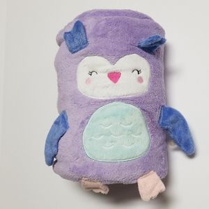 Other - Carter's Baby Blanket Purple Owl Fleece Sleepover
